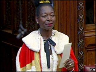 Baroness Floella Benjamin