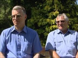 John and Terry Vallis