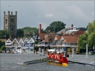 Rowing at Henley Regatta