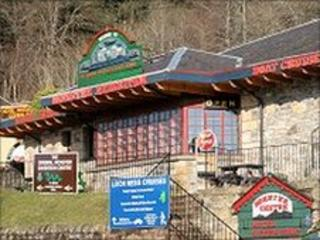 Original Loch Ness Monster Exhibition Centre. Image: Undiscovered Scotland
