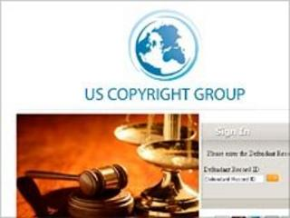 US Copyright Group website screen grab