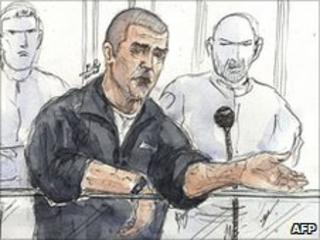Yvan Colonna in court 19.5.10