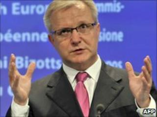 EU commissioner for Economic and Monetary Affairs Olli Rehn