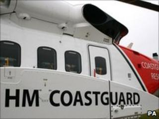 A coastguard helicopter - Sikorsky S-92