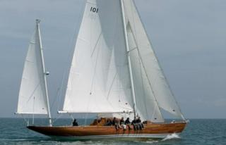 Royal yacht Bloodhound
