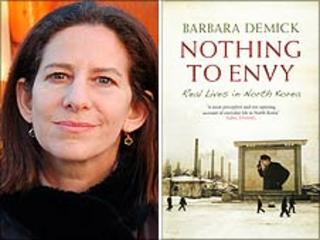 Barbara Demick (© Jinna Park) with her book jacket