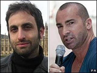 Tim Samuels and Louie Spence