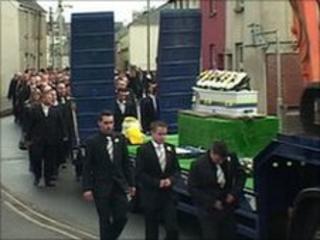 Daylin Brown funeral