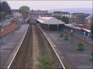 Caerphilly railway station