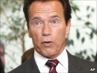 California Governor Arnold Schwarzenegger (file image)
