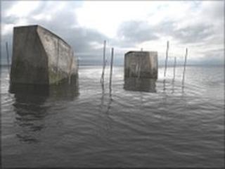 Holy Island floating museum