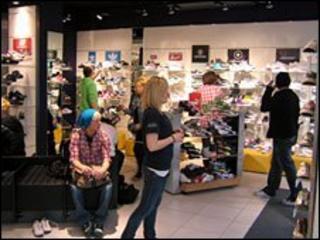 Schuh shop