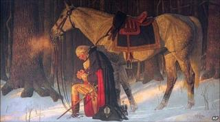 Arnold Friberg's The Prayer at Valley Forge