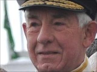 Vice Admiral Sir Fabian Malbon
