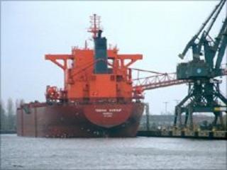 Yeoman Bontrup. Port of Gdansk photo