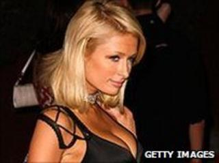 Paris Hilton (file photo)