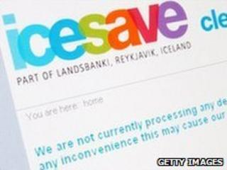 Screengrab from Icesave website