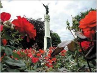 War memorial in Alexandra Park, Hastings (pic from Hastings Borough Council)