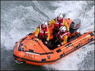 D-Class lifeboat
