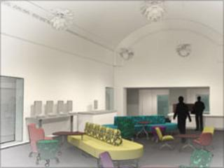 Image of the new library
