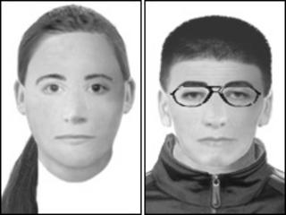 E-fits of Outwood burglary suspects