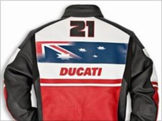 The jacket stolen in the burglary in Sale