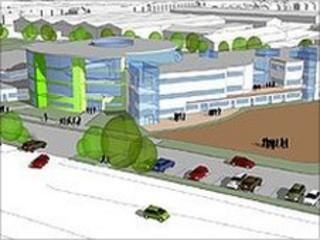 The planned new Archbishop Beck Catholic College, Walton