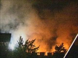 Fire at Premier Inn, Brackley