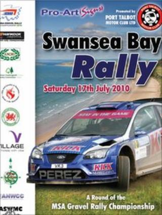 Poster for Swansea Bay Rally