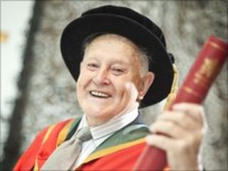 Paddy said his love for the city has driven him in his community work