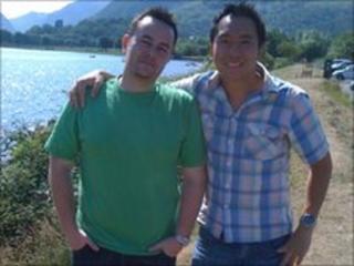 Edryd Sharp and Ambrose Choy