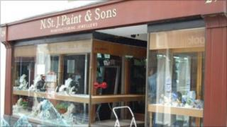 N St J Paint and Sons - a Guernsey gold and jewellery shop