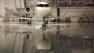 Bombardier Challenger 300 aircraft