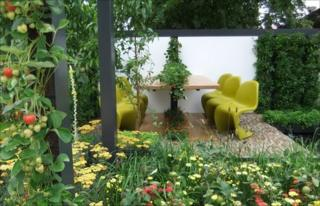 Hadlow College's Food 4 Thought at the Hampton Court Flower Show