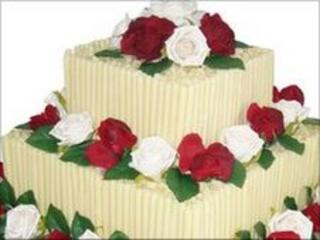 Cake from St Marys Bakery