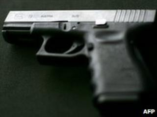 Glock 9mm pistol