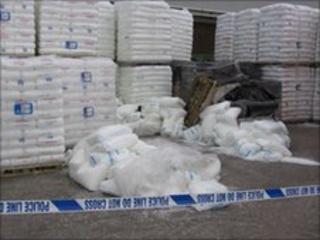 TS Ltd fallen pallets