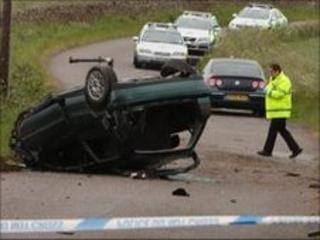 Arbroath accident. Pic by Paul Reid Angus Pictures