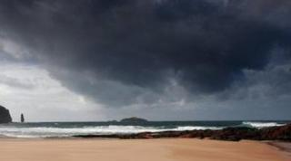 Peter Green took this image of Sandwood Bay during his farewell tour of Scotland