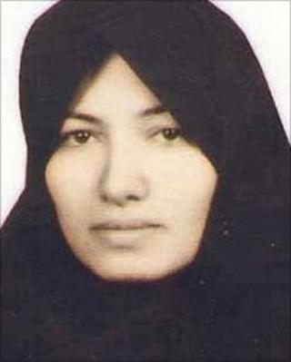 Sakineh Mohammadi Ashtiani (Family handout via Amnesty International)