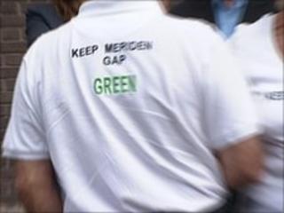 Meriden traveller's site protester