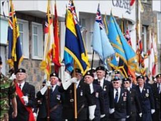 Guernsey's Liberation Day parade 2010