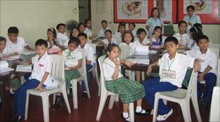 Philippine schoolchildren