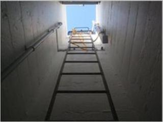 Shaft at ROC bunker Portadown