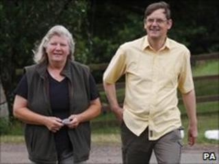 Linda Williams and Richard Pettett