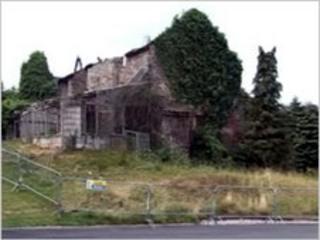 Little Bulmore Farmhouse, Celtic Manor Ryder Cup course, Newport, Wales