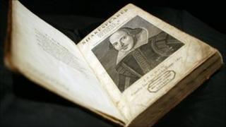 Shakespeare folio