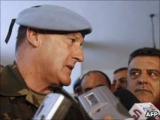 Maj Gen Alberto Asarta Cuevas, 8 July