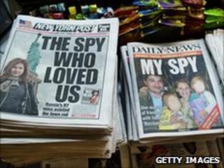 US newspaper headlines