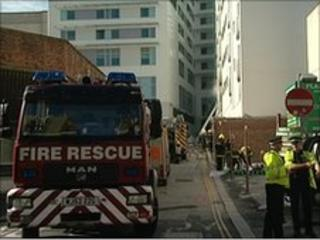 Fire at Plymouth flat